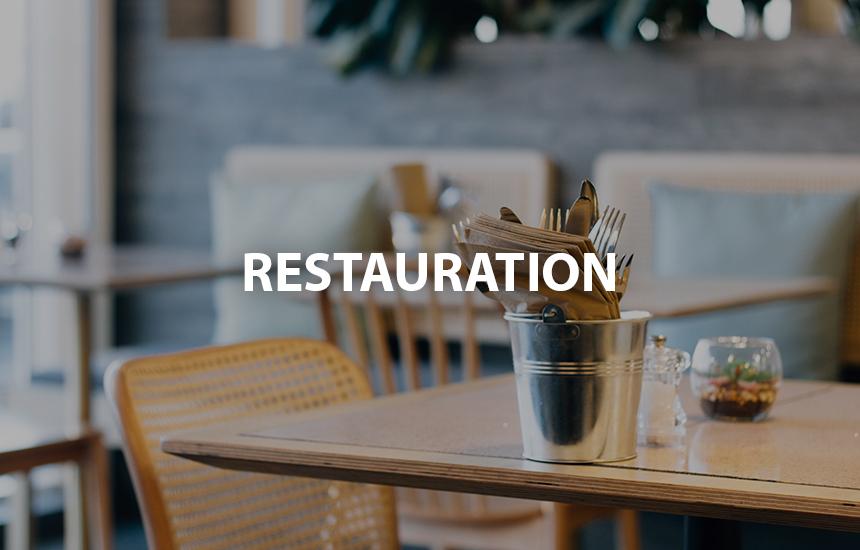 Restauration AX Hotel la Châtaigneraie