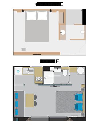 Chambres et lodges