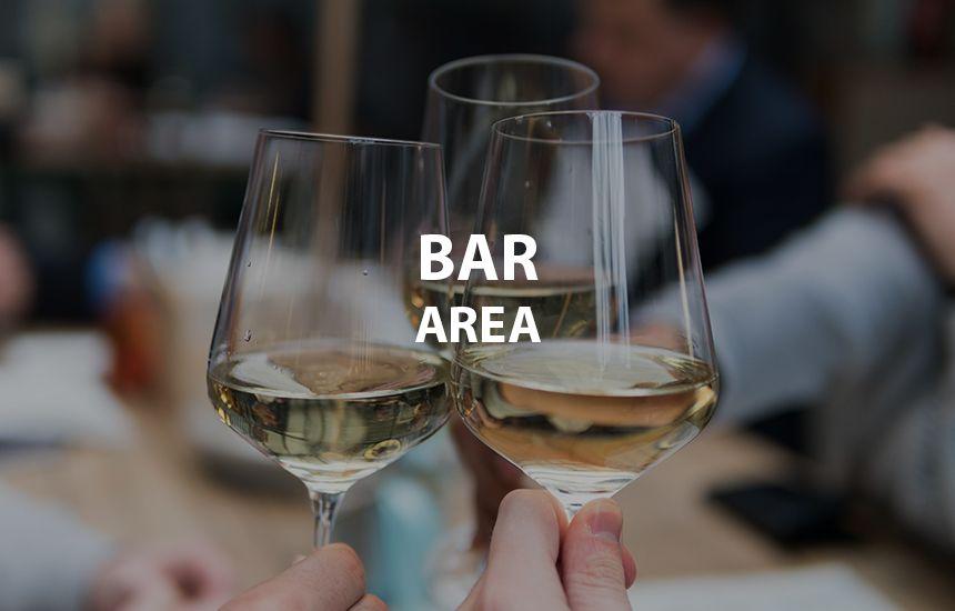 Bar area ax hotel