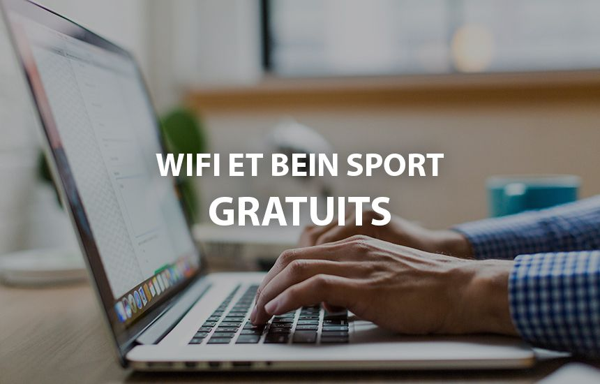 Wifi et bein sport gratuits AX Hotel la Châtaigneraie