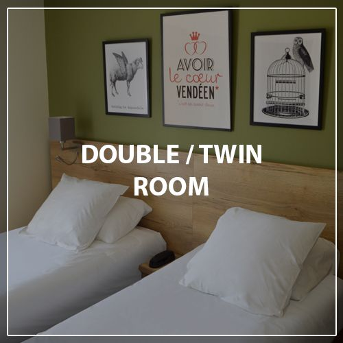 Double twin room