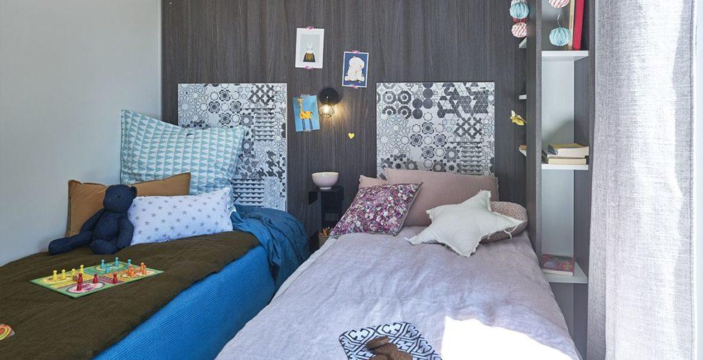 Lodge 6 personnes chambre enfant