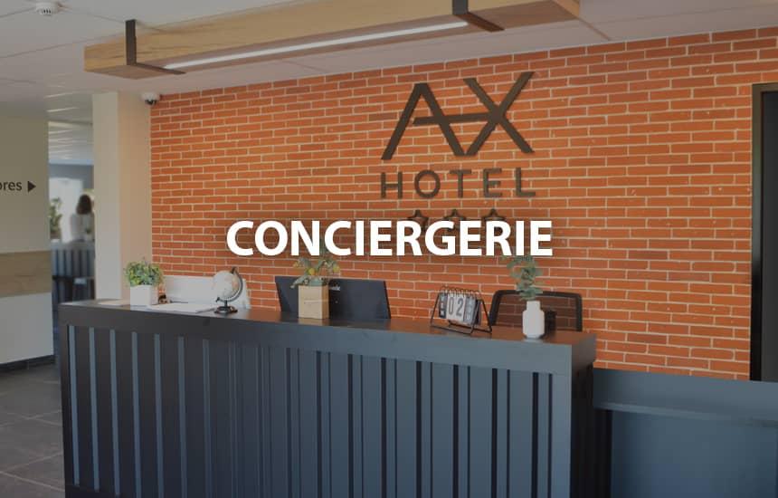 Parking gratuit AX HOTEL