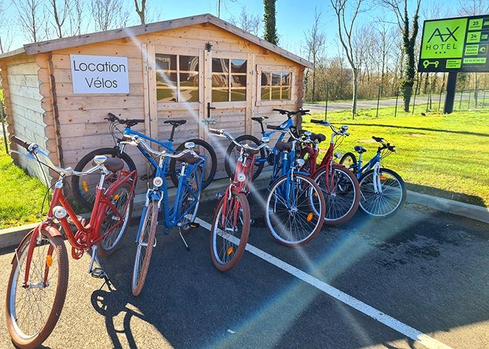 Local vélos location AX HOTEL