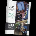 Tarifs 2021 AX HOTEL